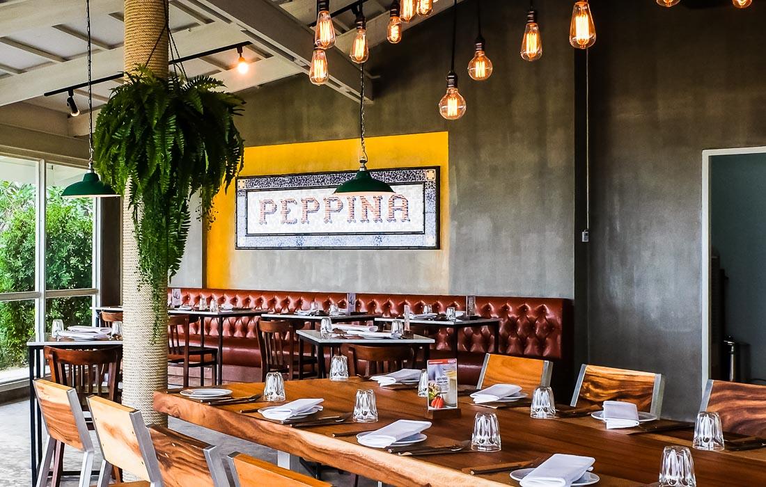 Peppina interior italianrestaurant huahinchaamthailand