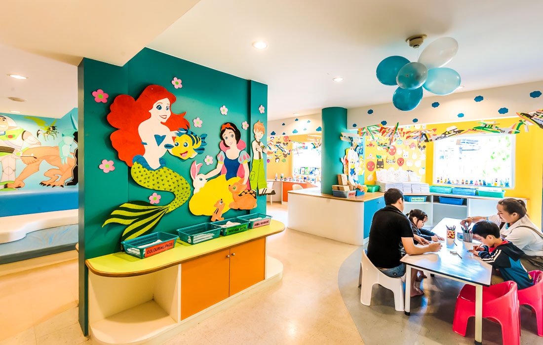 Kids club 2 facilities family huahinchaam Thailand